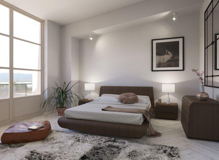 BOHO BEDROOM_3D RENDERING_ yiota kaplani_www.designzone.gr