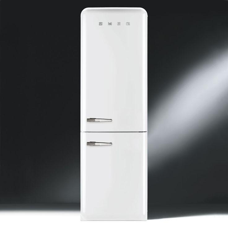 Retro Kühlschränke : Retro Kühl-/Gefrierkombination - FAB32RBN1