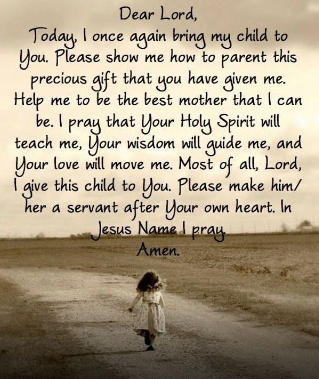 How to pray for your child -  even when they have grown and have a home of their own- PRAY for them daily