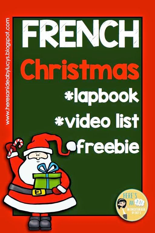 French Interactive Christmas activities, a selection of French Christmas videos and a freebie!