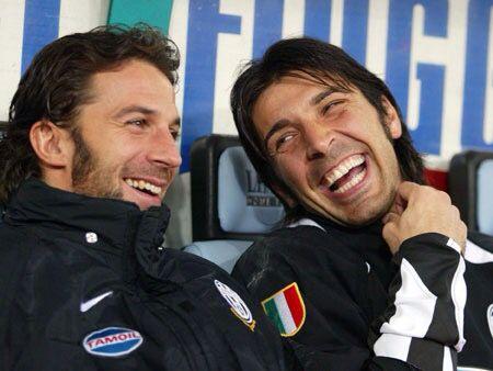 Cuteness: Buffon and Del Piero