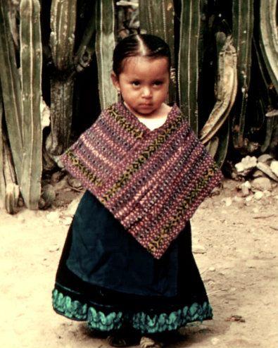 Mexican little girl
