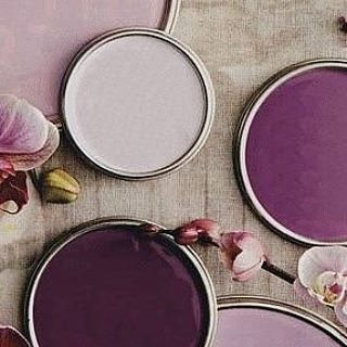 Dusty pink and plum color palette 💜 #fallcolors #dustypink #plum #happyweekend #newcollection #cyell
