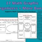 Use these math graphic organizers to dig deeper into mathematical concepts, help students attend to precision, choose the correct strategies and tools, and just plain have fun during math.   This Bundle Includes: - An explanation page of all of the organizers. - Asking Math Questions Organizer- Helps students to think through important steps and choose tools. -Dissecting Word Problem Organizer- To focus student reflection on the parts of a word problem, such as important #s and key ...