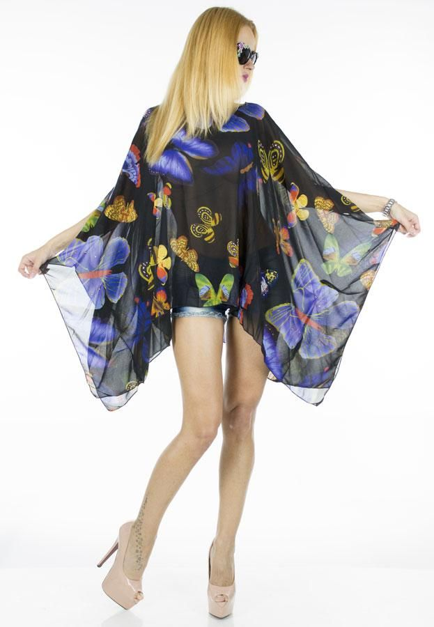 Bluza Dama Blue Black  Bluza dama din material fin, ce poate fi purtata cu usurinta de mai multe tipuri de silueta.     Compozitie:100%Poliester
