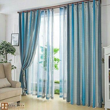 alta calidad moderna de rayas cortinas gruesas cortinas cortinas saln dormitorio especiales de productos