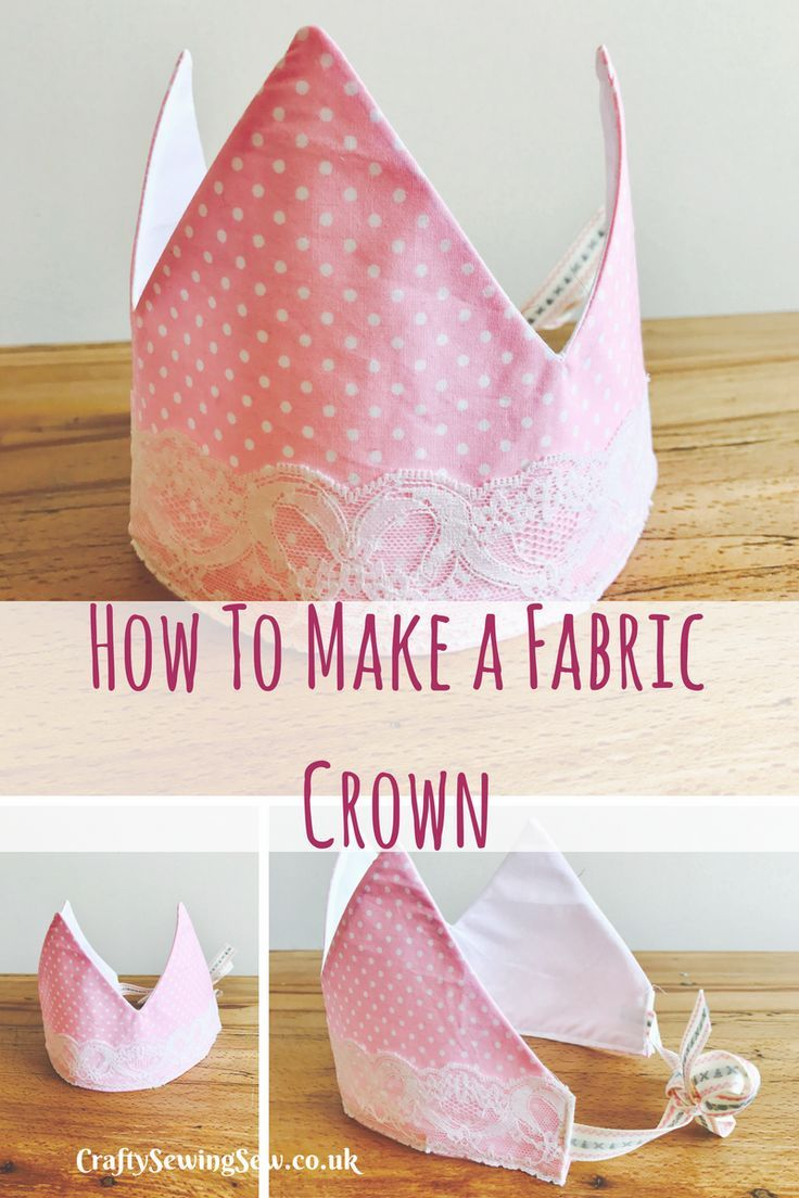 This is the perfect tutorial on how to make a fabric crown, perfect for birthdays and dress up days.