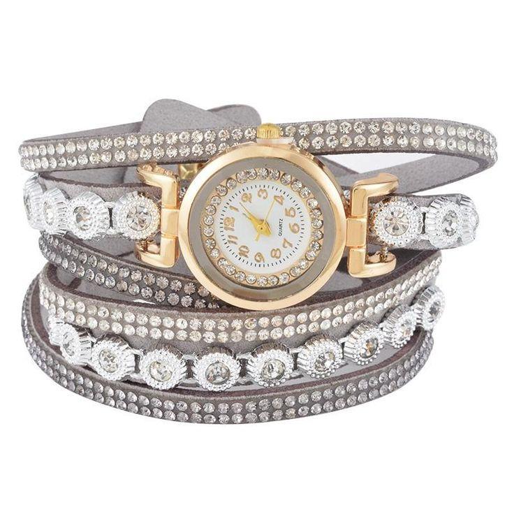 CCQ mujer Moda Casual AnalogQuartz mujeres de diamantes de imitación reloj pulsera reloj regalo Característica: 100% nuevo y de alta calidad . Cantidad: 1 Dial de Material de la ventana:Vidrio Material del caso:Aleación de Dial de Material de:Acero inoxidable Movimiento:Cuarzo Caso de la forma:Ronda Estilo:Moda Pantalla de marcación:Análogo Material de la banda:Cuero de la PU Diámetro del dial:2.6CM Caso espesor:1.0cm Ancho de banda:2CM Longitud de la banda:41CM Este es un bue...
