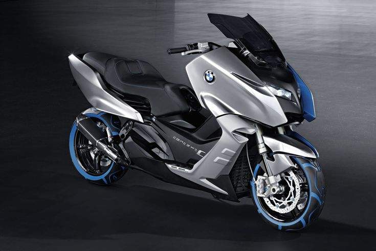 The BMW Concept C scooter unveiled