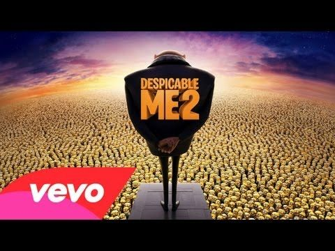 Pharrell Williams - Happy (Despicable Me 2 - Lyric Video) - YouTube
