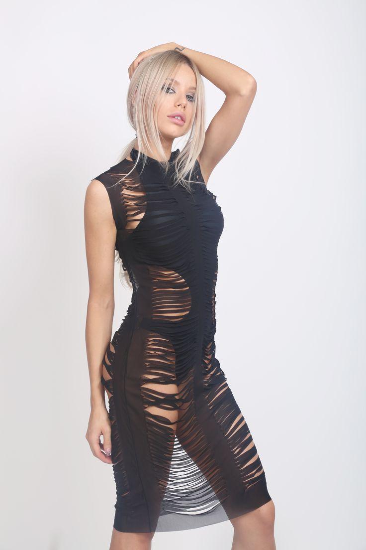 Godiva Laser Cut Dress!