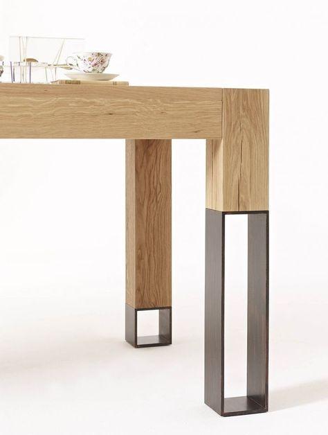 die besten 25 tischbeine holz ideen auf pinterest tischbeine metall tischbeine stahl und. Black Bedroom Furniture Sets. Home Design Ideas