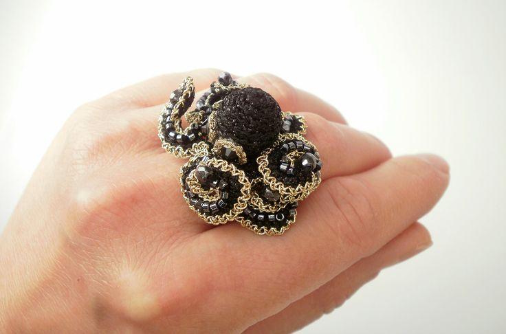 #octopus#octopusring#ring#jewelry#jewelrydesign#maxiring
