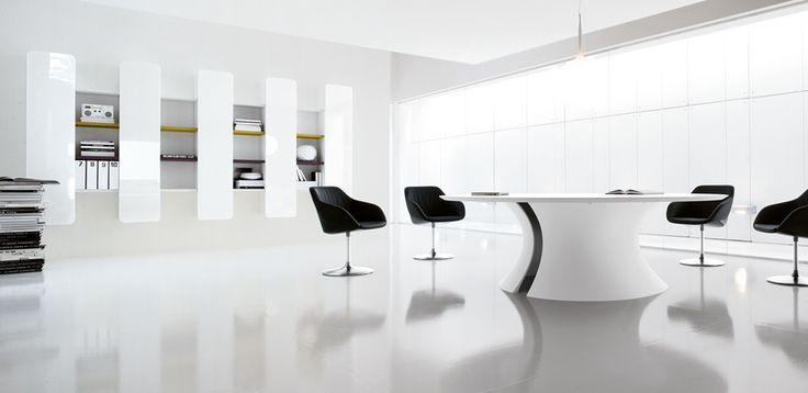 Mesa de Conferencia Ola por Martex, Diseñadores Mario Mazzer