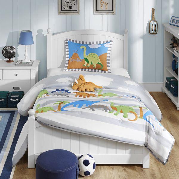 mi zone kids daring dino 4piece comforter set by mizone