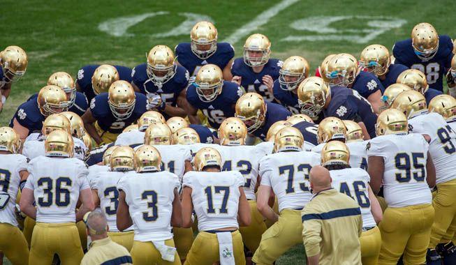 Phil Steele has published his 2014 college football strength of schedule rankings. Notre Dame has the toughest schedule in 2014, per Steele.
