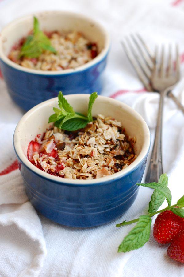 Coconut Strawberry Crisp (GF)
