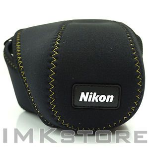 New Genuine Nikon Neoprene Camera Case Pouch CS NK29 for Nikon P500 P100 P80 P50 | eBay