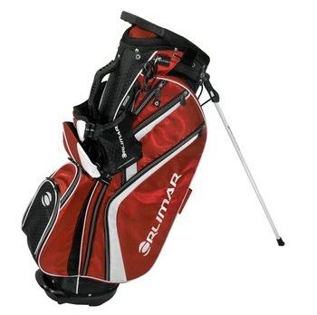 Featuring a graphite safe top with seven compartments these mens 2014 OS 7.8+ golf staff strand bags by Orlimar also provide five accessory pockets and an insulated cooler pouch