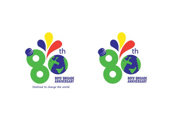 Branding: Boys Brigade 80th Anniversary Logo by Shahidah Selamat, via Behance