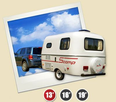Lightweight Travel Trailers & Small Campers - Scamp Trailers