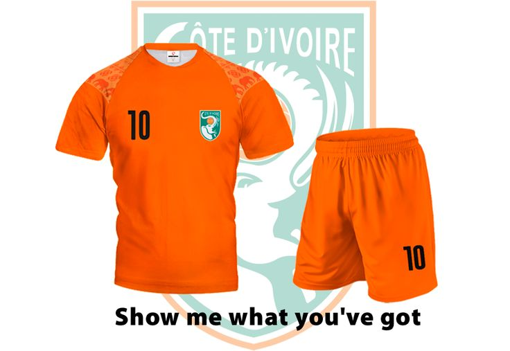 Ivory Coast reached the finals of Africa Cup of Nations by beating DR Congo.  Wear this and let's show support for this team. You can order it now!