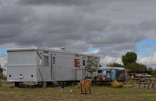 El Cosmico trailer, tent and teepee hotel and campground in Marfa
