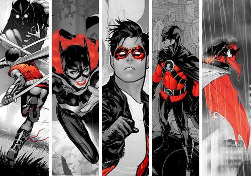 Colours of D.C. Comics: Red