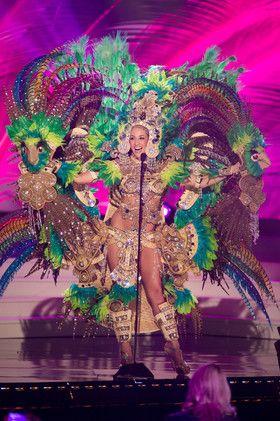¿Cuál es el mejor 'traje nacional' de Miss Universo 2015? // Qual è il miglior costume nazionale rappresentante della cultura e della storia dell loro paese  in Miss Universo .-