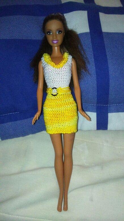 57 best vestidos para barbie images on Pinterest | Armreifen ...
