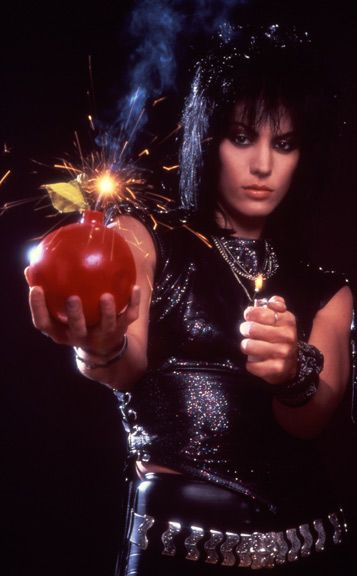 Joan Jett with a Cherry Bomb! NEVER DID CARE FOR THOSE WEEPY WIMPY DAMSEL IN DISTRESS TYPES