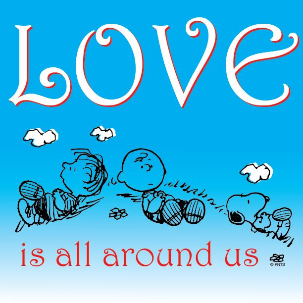 Love is all around us.
