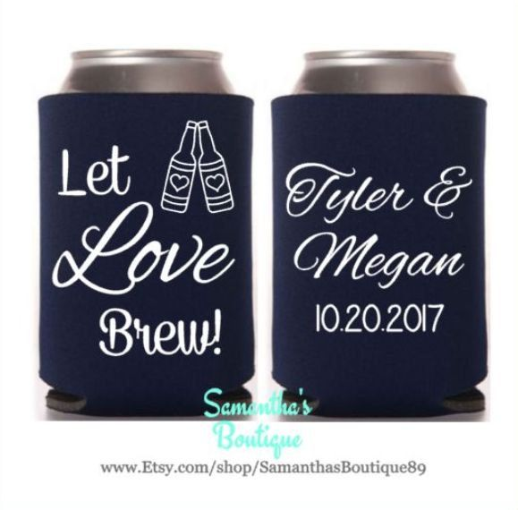 Let Love Brew! With Name And Date