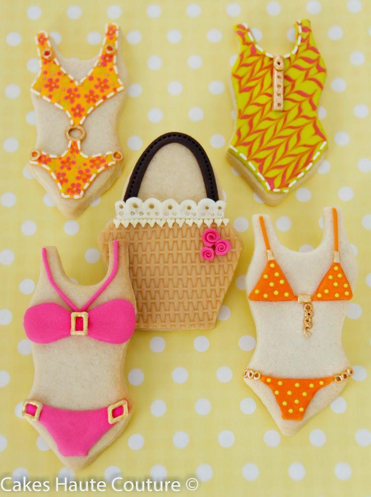 Summer beach decorated cookies / Galletas decoradas verano playa