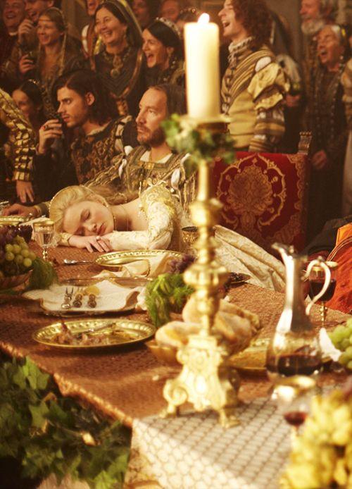 Holliday Grainger in 'The Borgias' (2011). x