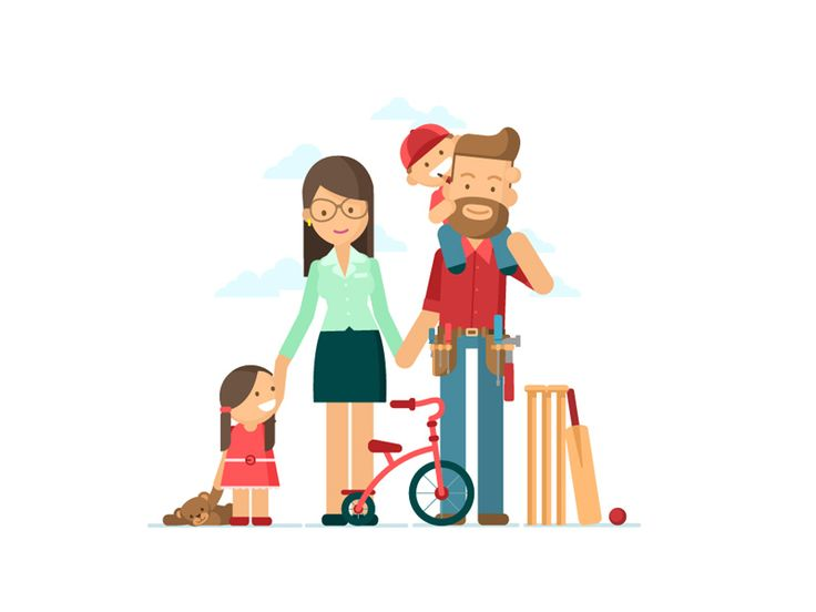 Lifebroker - Family by Chris Phillips #Design Popular #Dribbble #shots