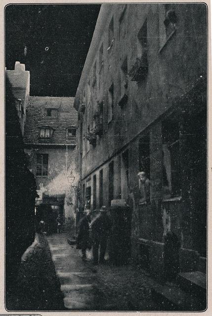 Berlin Gasse 1927