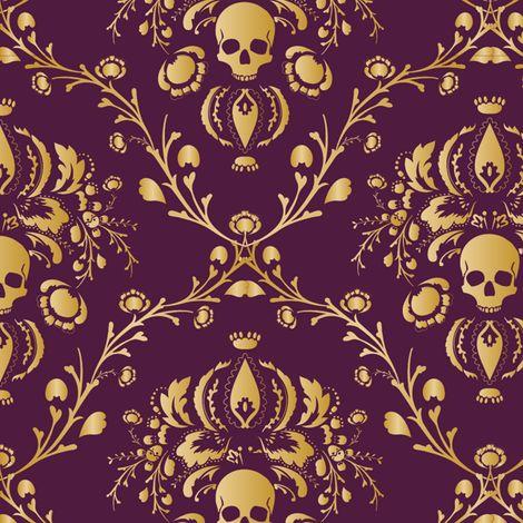 Gothic Pattern Wallpaper best 20+ gothic wallpaper ideas on pinterest | ornate mirror