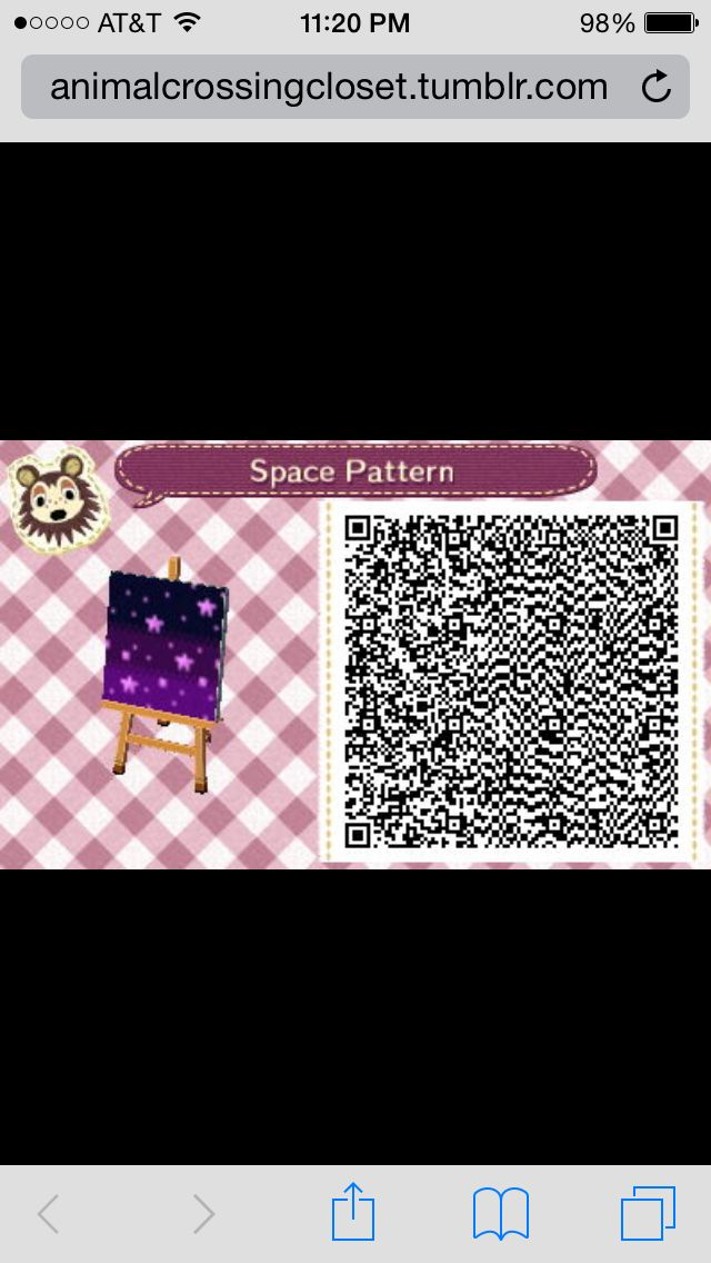 Animal crossing new leaf qr code space pattern animal Boden qr codes animal crossing new leaf