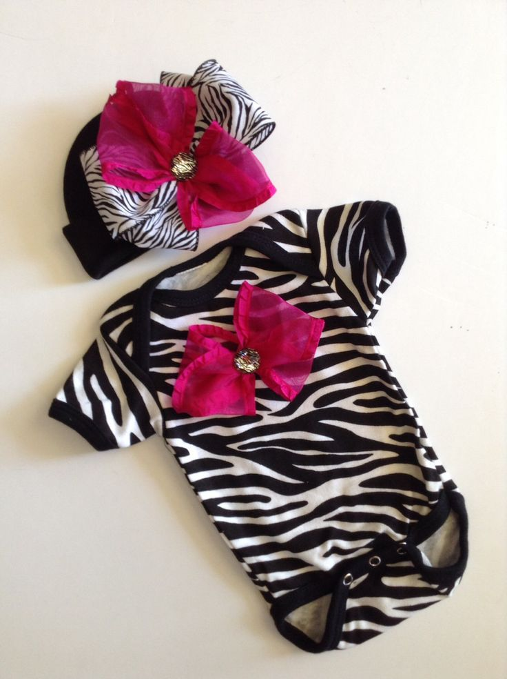 NEWBORN+baby+girl+TaKe+Me+Home+outfit+ZeBrA+by+BeBeBlingBoutique,+$35.00