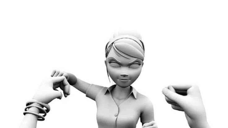 2015 Video Game Character Animation Demo Reel