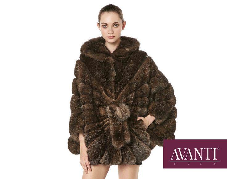 AVANTI FURS - MODEL: NIDA-MARZENA ZK SABLE JACKET with Mink Silk details #avantifurs #fur #fashion #fox #luxury #musthave #мех #шуба #стиль #норка #зима #красота #мода #topfurexperts