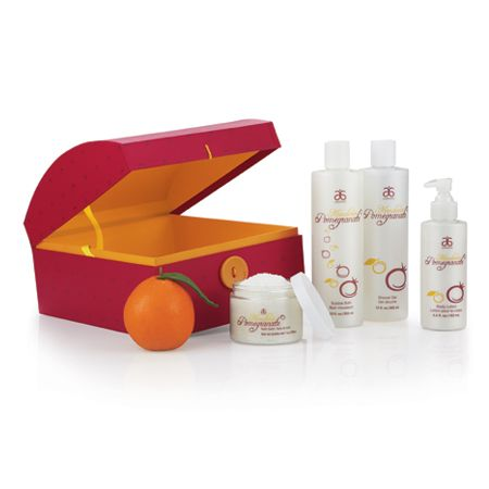 Our new Mandarin Pomegranate Frost Spa Gift Set makes the perfect ...