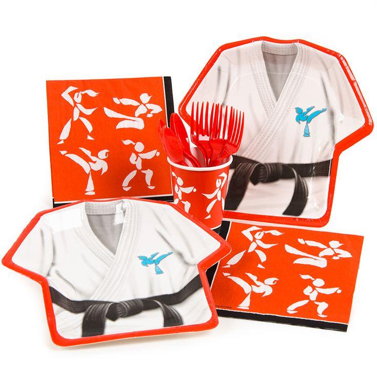 Thème d'anniversaire Kimono pour un fan de judo ou de karaté - Annikids