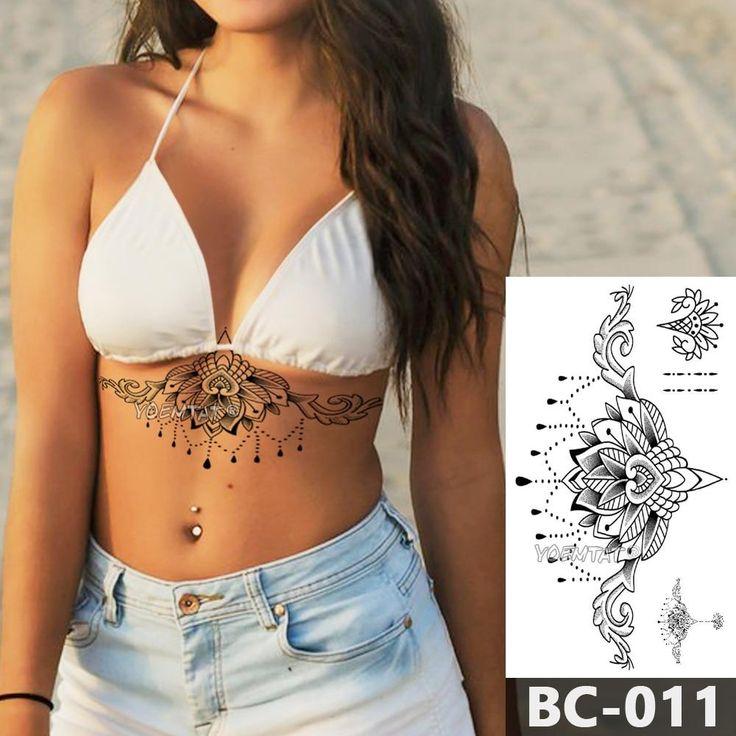 Type: Tijdelijke tatoeëringModelnummer: 24X13.8cmgrootte: 1 pieceMerknaam: YOEMTAT Lotus Mandala, Lotus Flower, Full Sleeve Tattoos, Tattoo Sleeve Designs, Tattoo Sleeves, Glam Makeup Look, Makeup Looks, Foot Tattoos, Tatoos