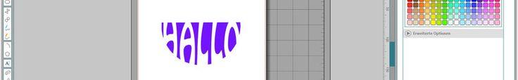 Schrift an eine Form mit der Silhouette Designer Edition anpassen