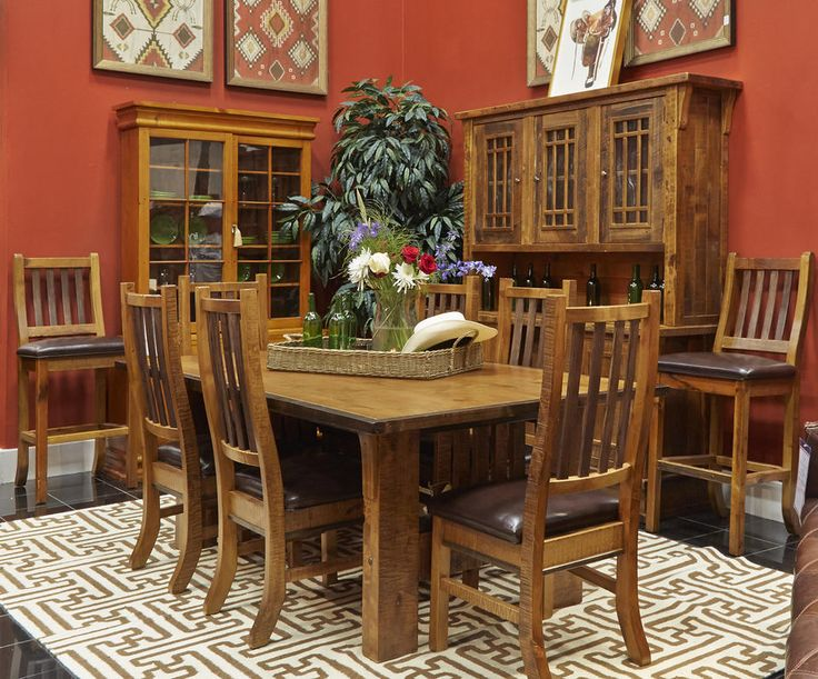 Dining Set From Gallery Furniture The Comfortable Yet Sturdy Chairs