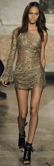 Designer party dresses from Emilio Pucci autumn/winter 2010/11 Collection - Runway Fashion - Zimbio