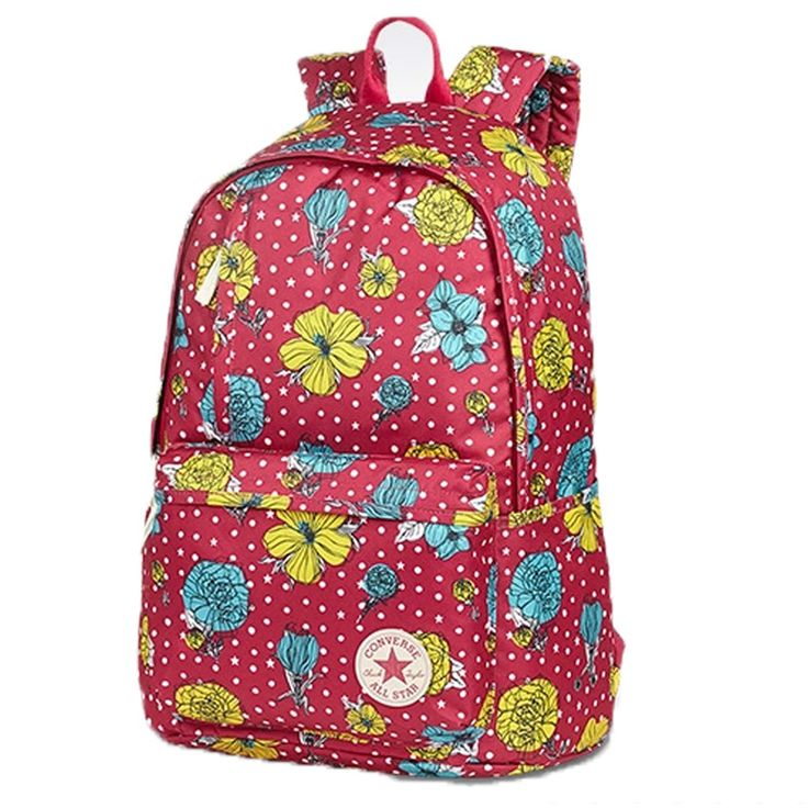 #converse CONVERSE bags man bag handbag  Allstar floral backpack shoulder bag 12035C