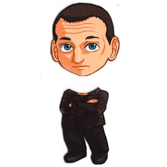 Mix and Match Magnets: Ninth Doctor (Doctor Who) via Etsy